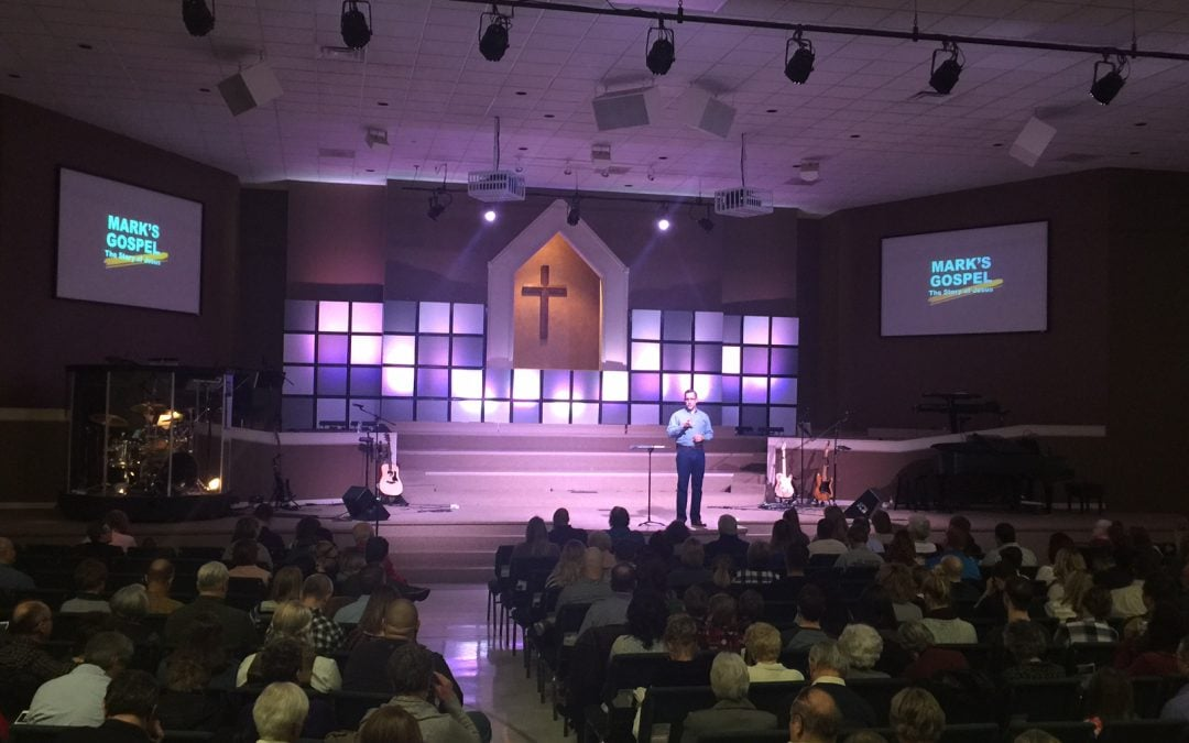CHAUVET Lighting Project for Antioch Bible Baptist