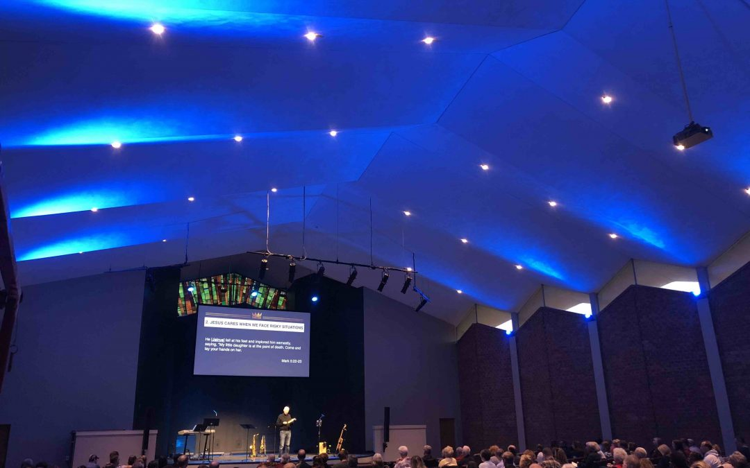 Briarcliff Church Refreshes Sanctuary Audio and Lighting with L-Acoustics SYVA and Chauvet Professional